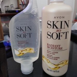 Avon Skin So Soft Radiant Bundle